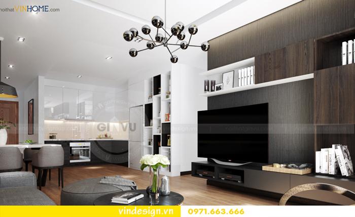 các mẫu thiết kế phòng khách đẹp tại vinhomes d capitale 07