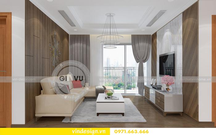 các mẫu thiết kế phòng khách đẹp tại vinhomes d capitale 08
