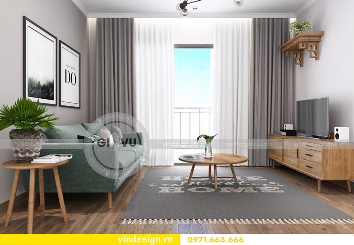 các mẫu thiết kế phòng khách đẹp tại vinhomes d capitale 10