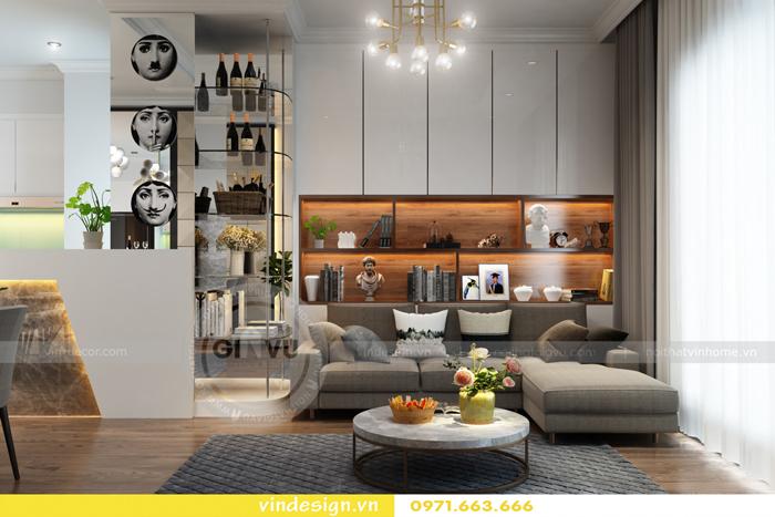 các mẫu thiết kế phòng khách đẹp tại vinhomes d capitale 15