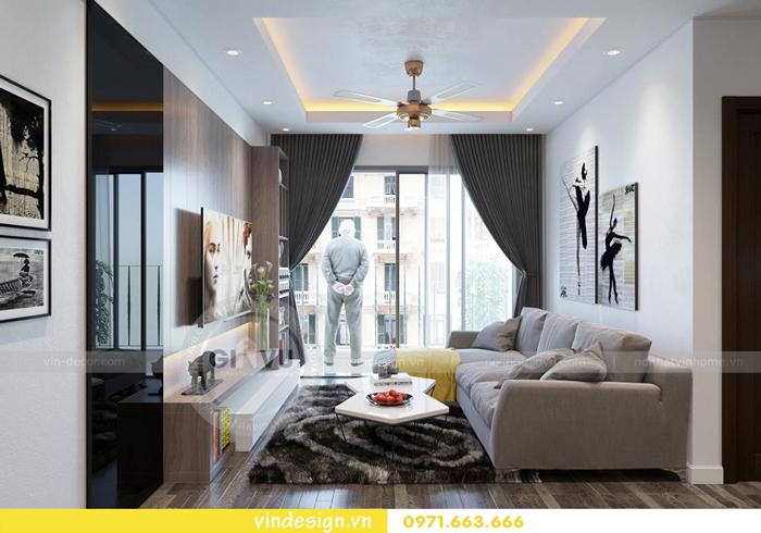 các mẫu thiết kế phòng khách đẹp tại vinhomes d capitale 16