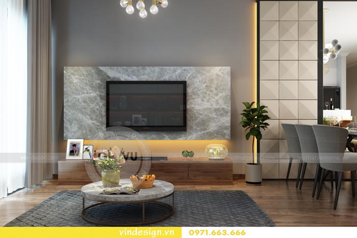 các mẫu thiết kế phòng khách đẹp tại vinhomes d capitale 18