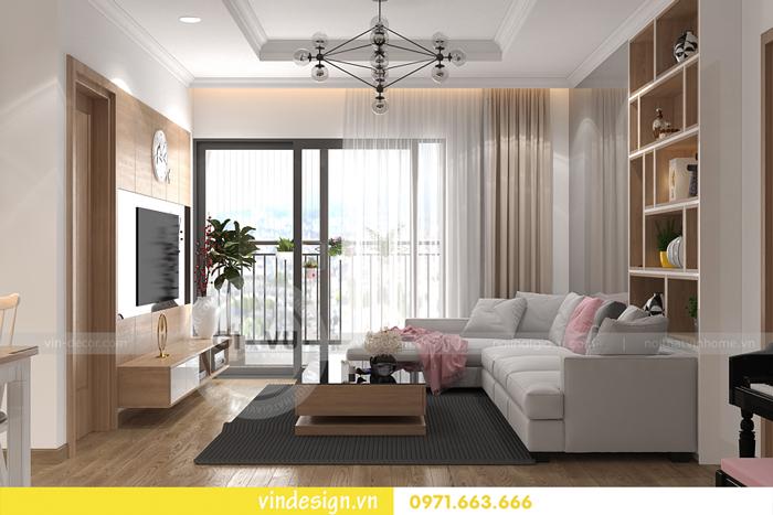 các mẫu thiết kế phòng khách đẹp tại vinhomes d capitale 20