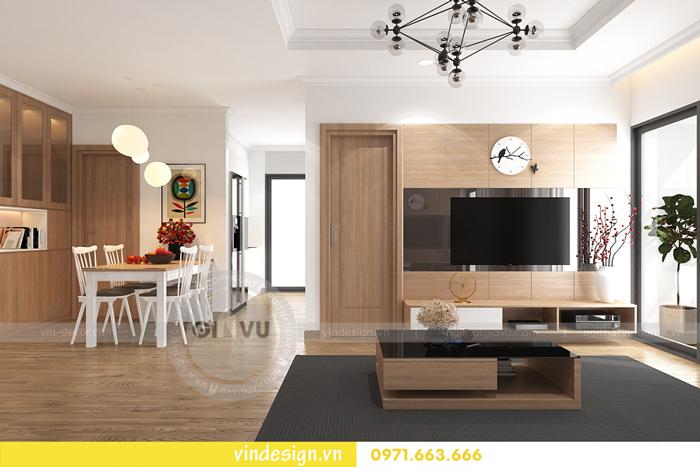các mẫu thiết kế phòng khách đẹp tại vinhomes d capitale 21