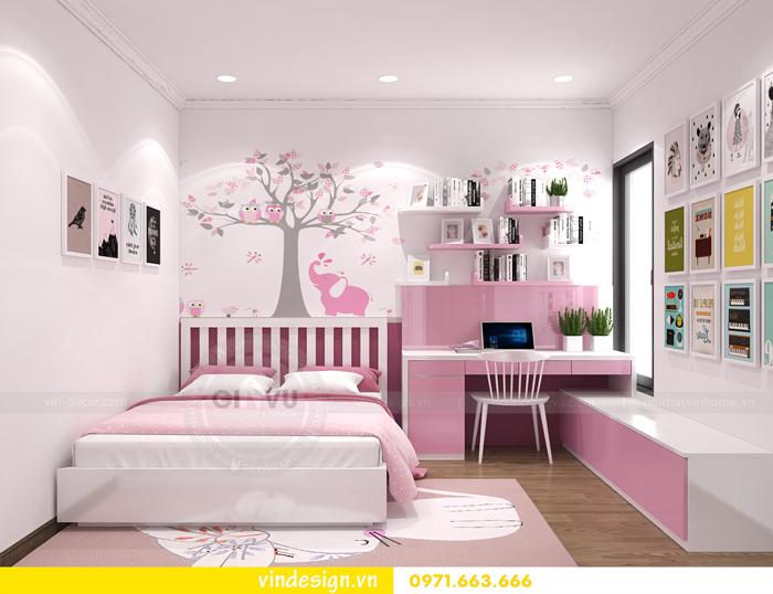 các mẫu thiết kế phòng ngủ trẻ em tại vinhomes d capitale 01