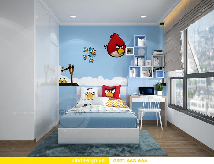 các mẫu thiết kế phòng ngủ trẻ em tại vinhomes d capitale 04