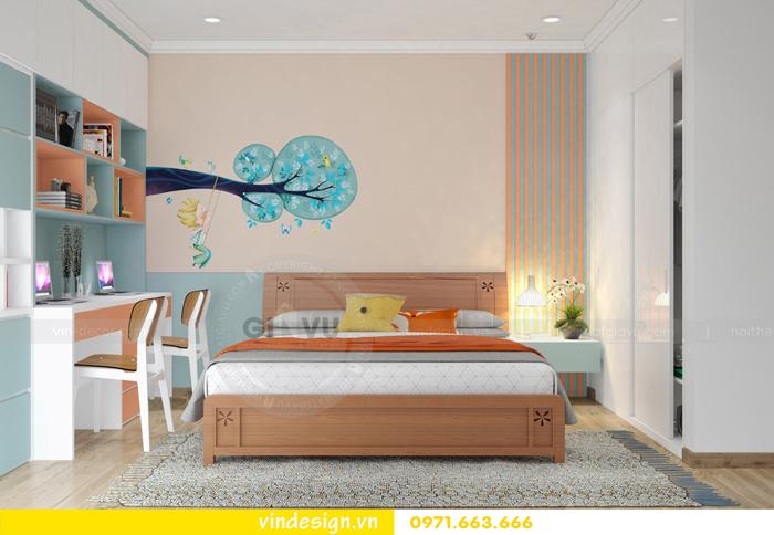 các mẫu thiết kế phòng ngủ trẻ em tại vinhomes d capitale 06