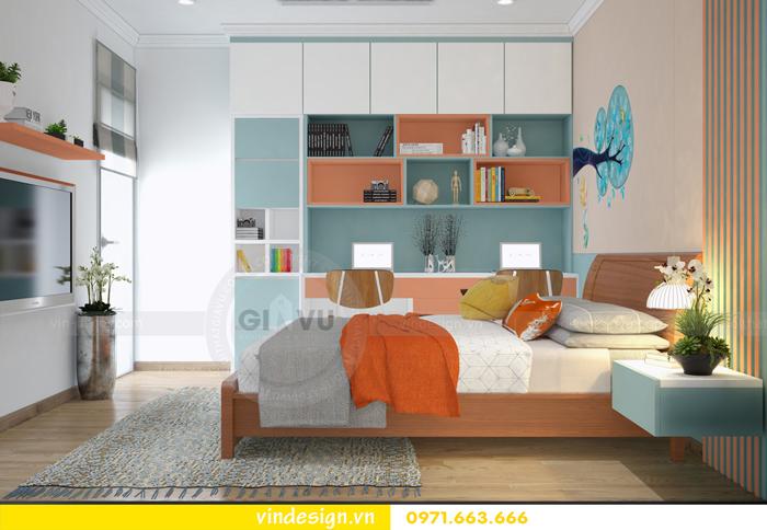 các mẫu thiết kế phòng ngủ trẻ em tại vinhomes d capitale 08