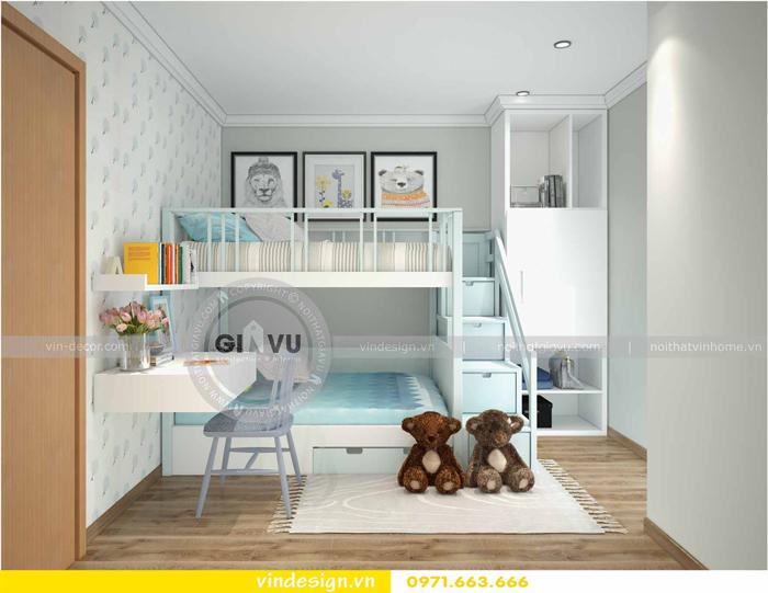 các mẫu thiết kế phòng ngủ trẻ em tại vinhomes d capitale 09