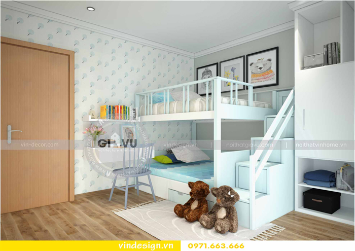 các mẫu thiết kế phòng ngủ trẻ em tại vinhomes d capitale 10