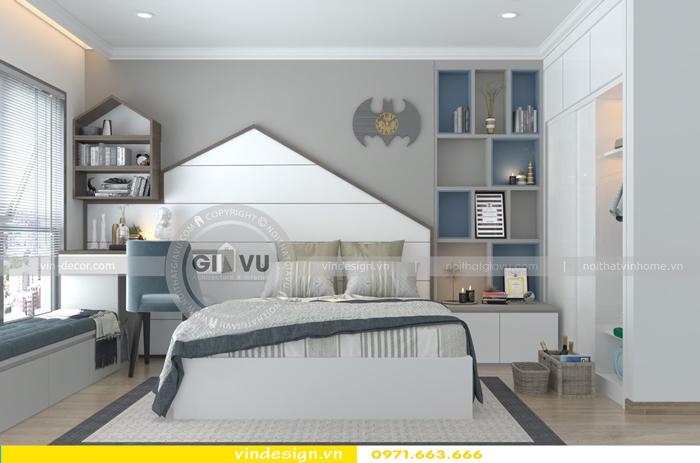 các mẫu thiết kế phòng ngủ trẻ em tại vinhomes d capitale 11