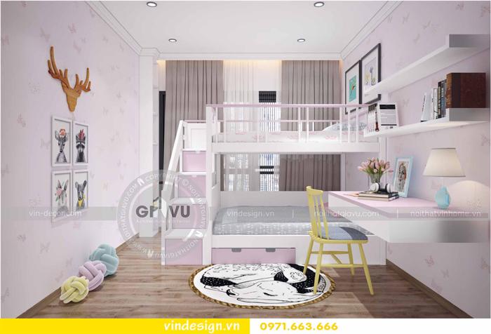 các mẫu thiết kế phòng ngủ trẻ em tại vinhomes d capitale 13