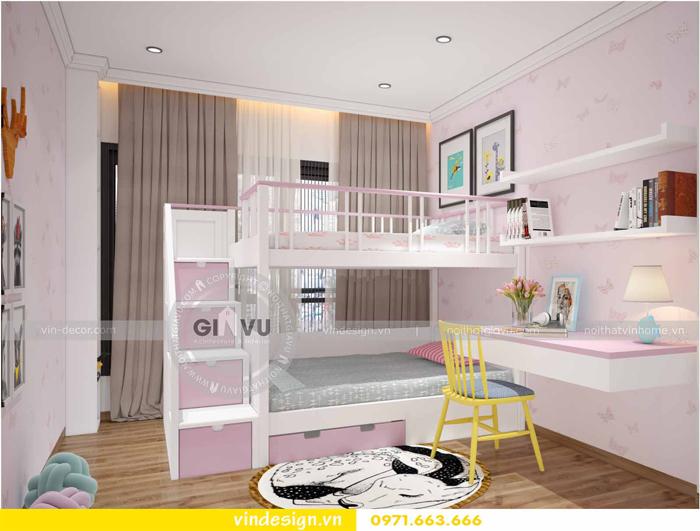 các mẫu thiết kế phòng ngủ trẻ em tại vinhomes d capitale 15