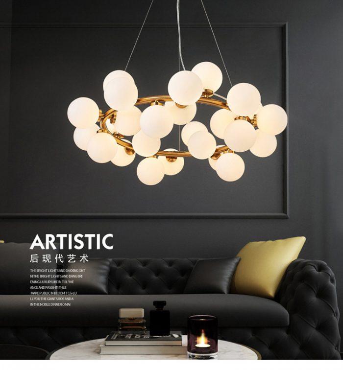 Cách chọn lựa đèn trang trí hiện đại cho phòng khách 65