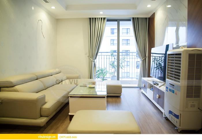 hoàn thiện nội thất chung cư Park Hill 3 căn 06 03