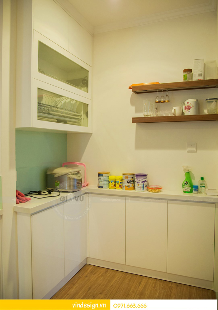 hoàn thiện nội thất chung cư Park Hill 3 căn 06 06