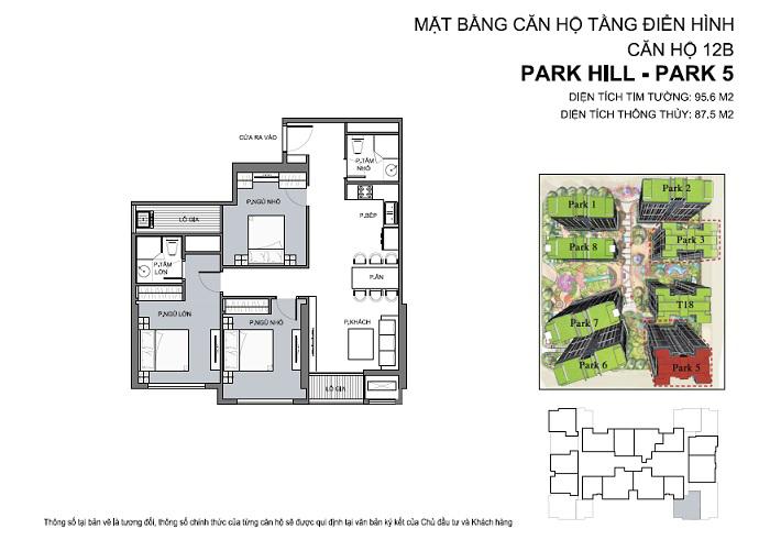 Hoàn thiện nội thất chung cư park hill 5 căn 12B 01