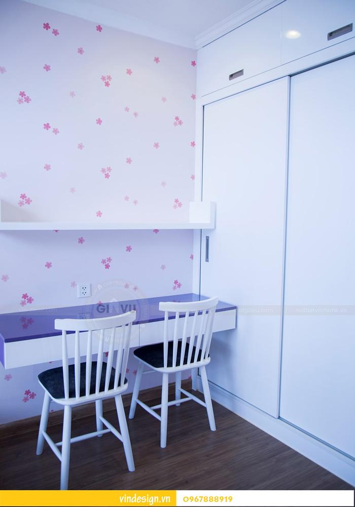 Hoàn thiện nội thất chung cư park hill 5 căn 12B 17