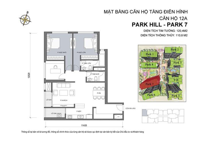 hoàn thiện nội thất chung cư park hill 7 căn 12A 01.1