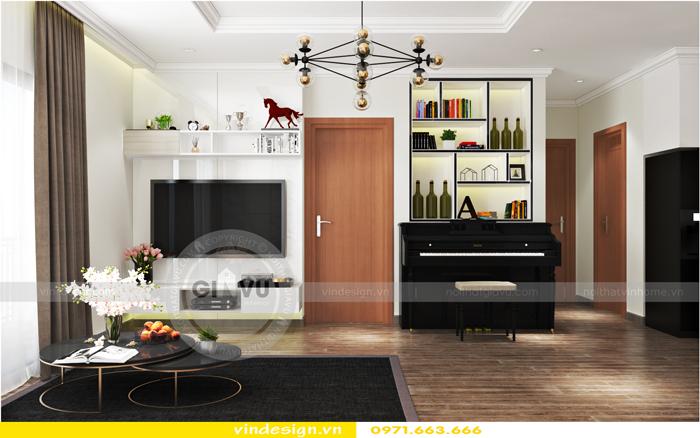 làm nội thất chung cư đẹp vinhomes D Capitale tại Hà Nội 01