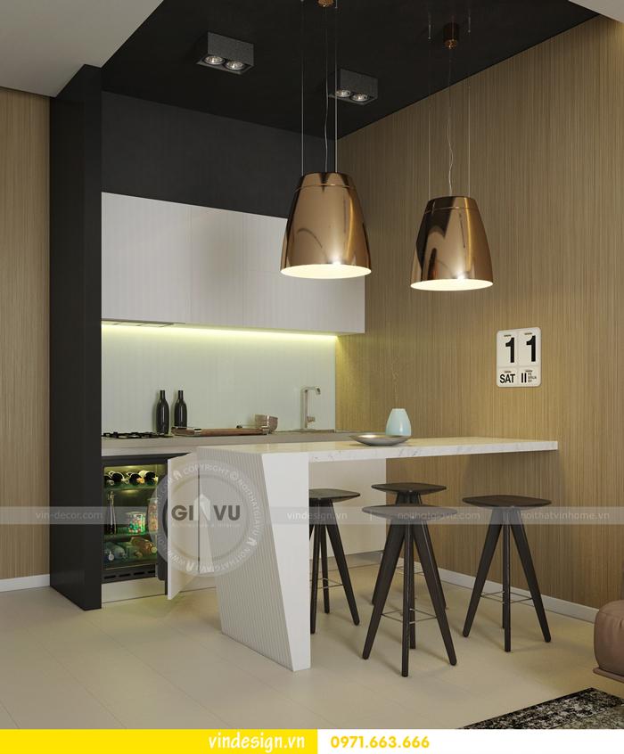 Phương án thiết kế nội thất căn 3 phòng ngủ vinhomes d capitale 02