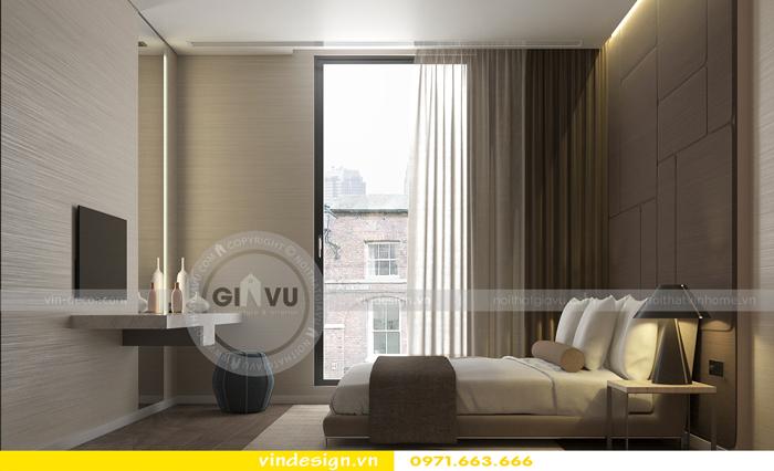 Phương án thiết kế nội thất căn 3 phòng ngủ vinhomes d capitale 04