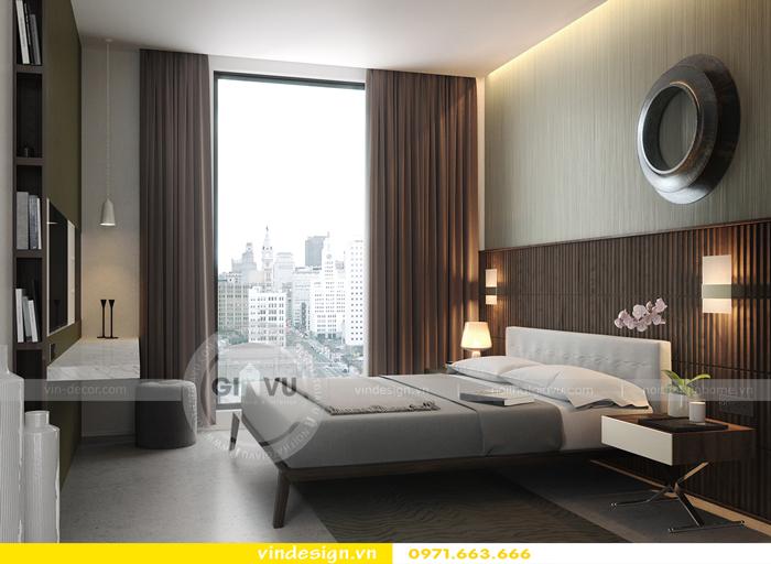 Phương án thiết kế nội thất căn 3 phòng ngủ vinhomes d capitale 06