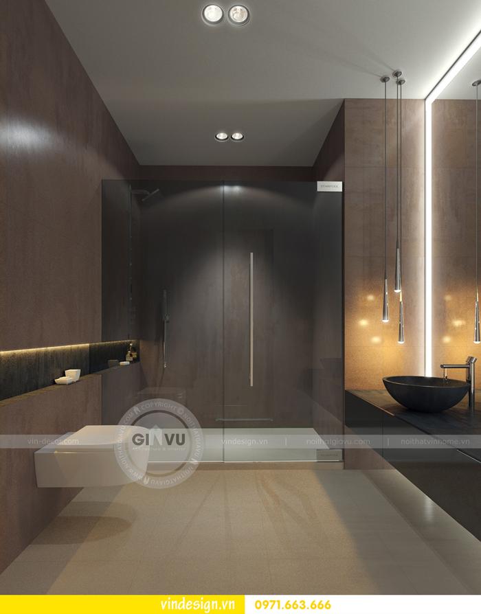 Phương án thiết kế nội thất căn 3 phòng ngủ vinhomes d capitale 07