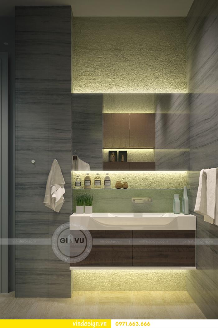 Phương án thiết kế nội thất căn 3 phòng ngủ vinhomes d capitale 08