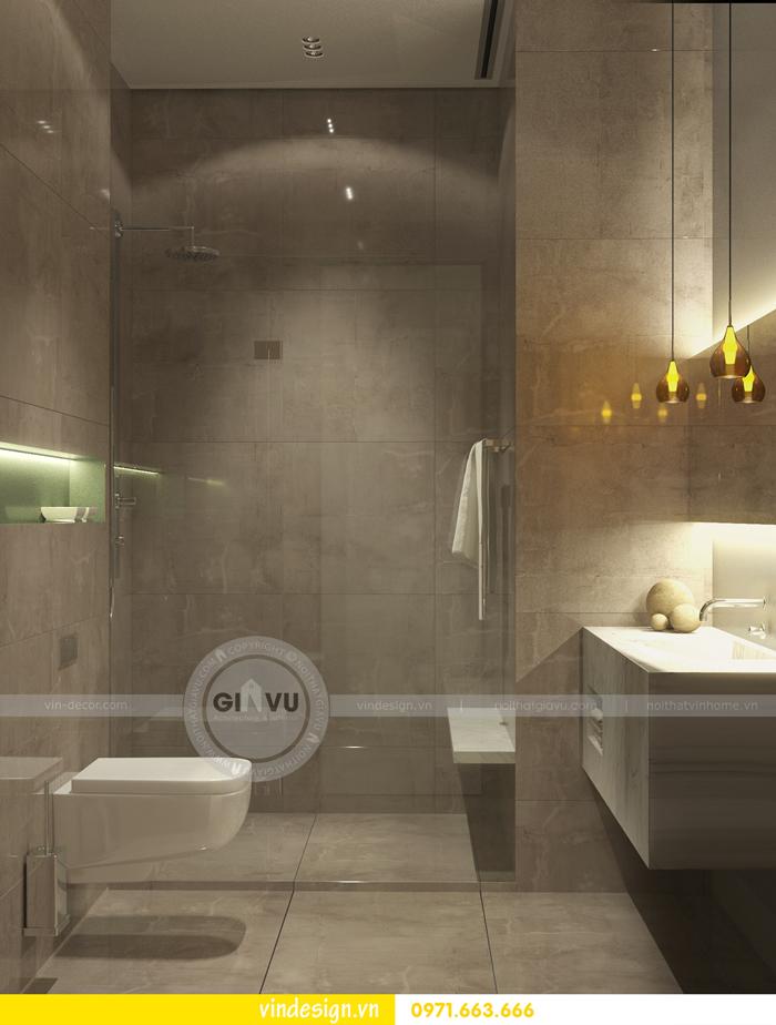 Phương án thiết kế nội thất căn 3 phòng ngủ vinhomes d capitale 10