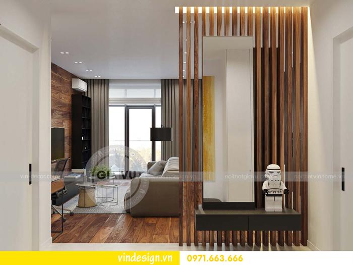 phương án thiết kế nội thất căn hộ 1 phòng ngủ vinhomes d capitale 11