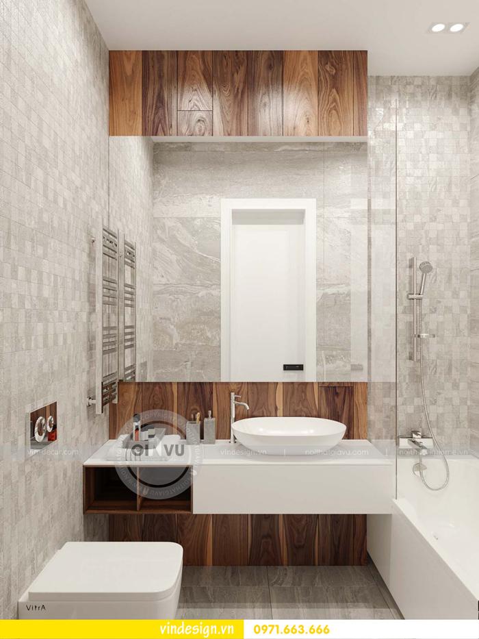 phương án thiết kế nội thất căn hộ 1 phòng ngủ vinhomes d capitale 17
