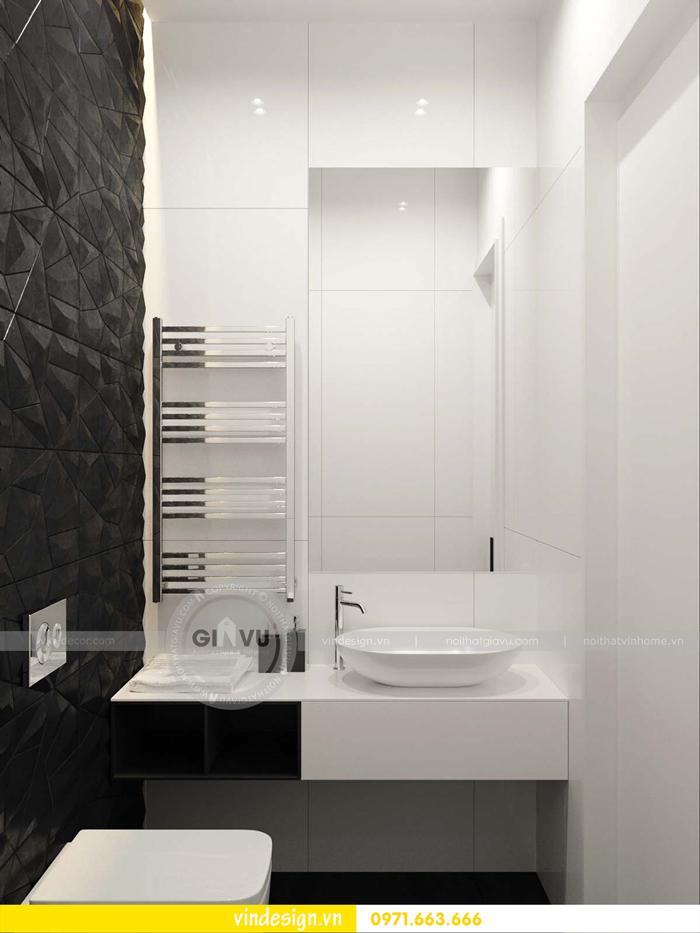 phương án thiết kế nội thất căn hộ 1 phòng ngủ vinhomes d capitale 18