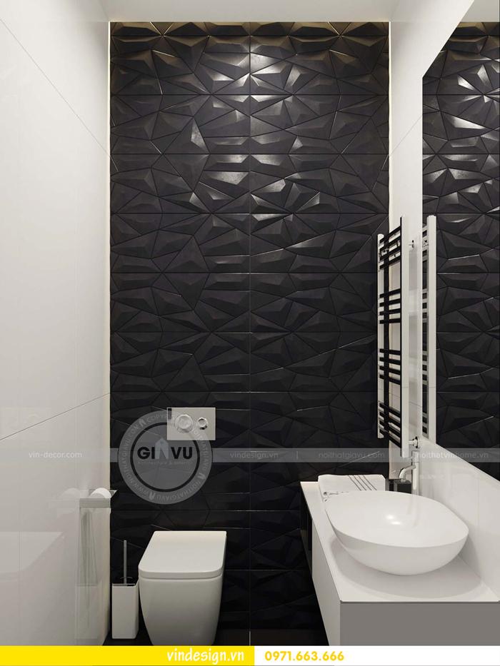 phương án thiết kế nội thất căn hộ 1 phòng ngủ vinhomes d capitale 20