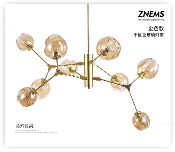 sử dụng đèn trang trí hiện đại cho chung cư cao cấp 48