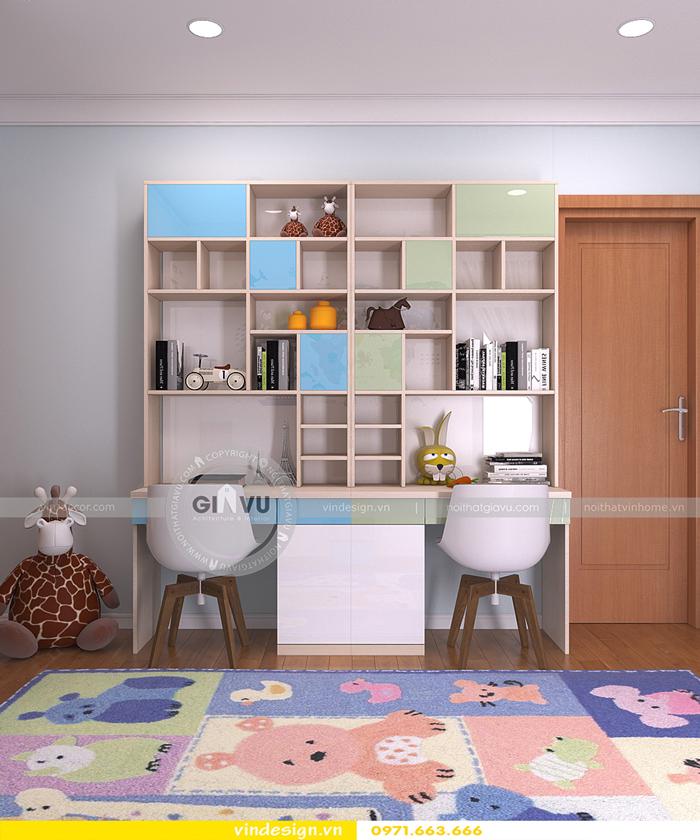thi công nội thất căn hộ Gardenia 11