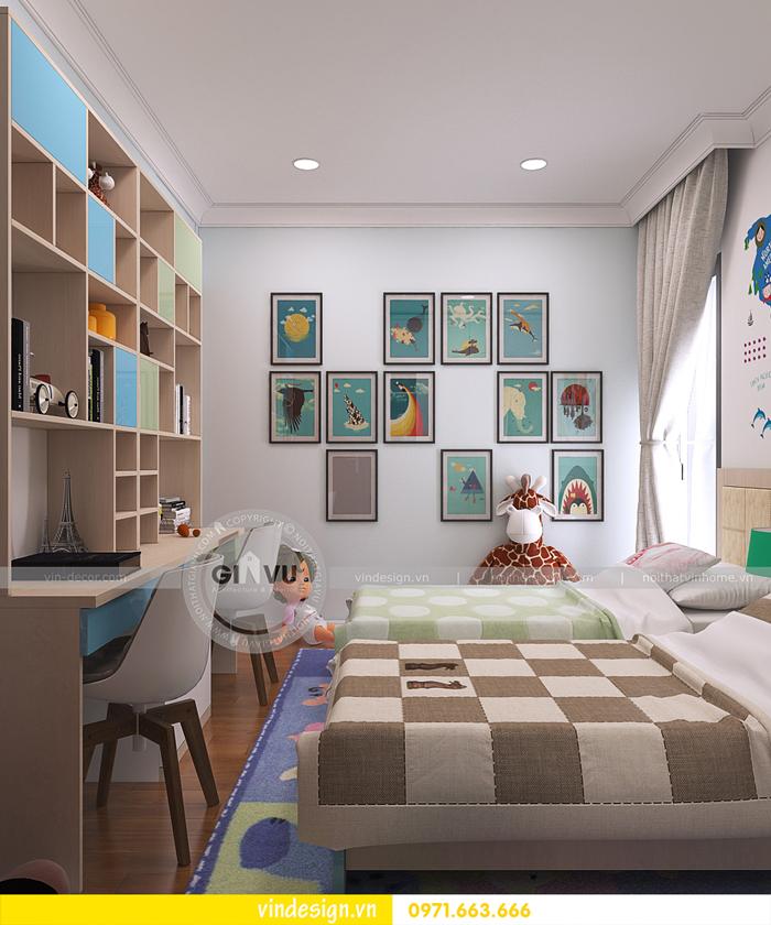 thi công nội thất căn hộ Gardenia 12