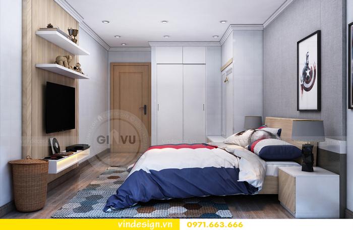 Thi công nội thất chung cư Gardenia Mỹ Đình 15