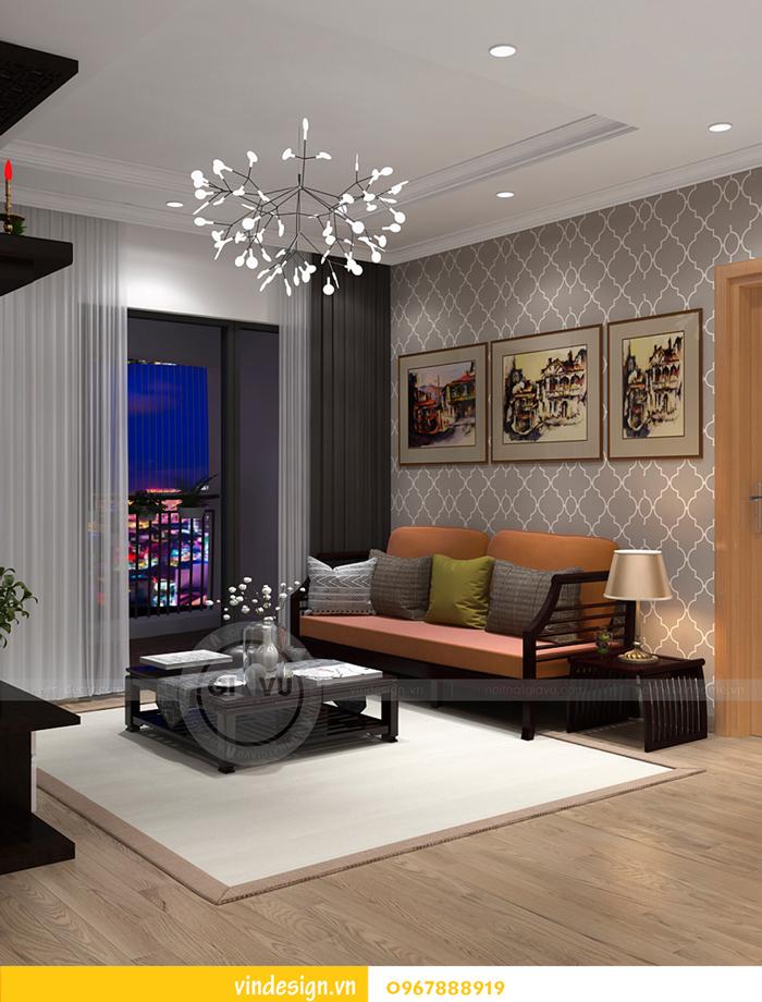 Thi công nội thất chung cư Gardenia tòa A2 01