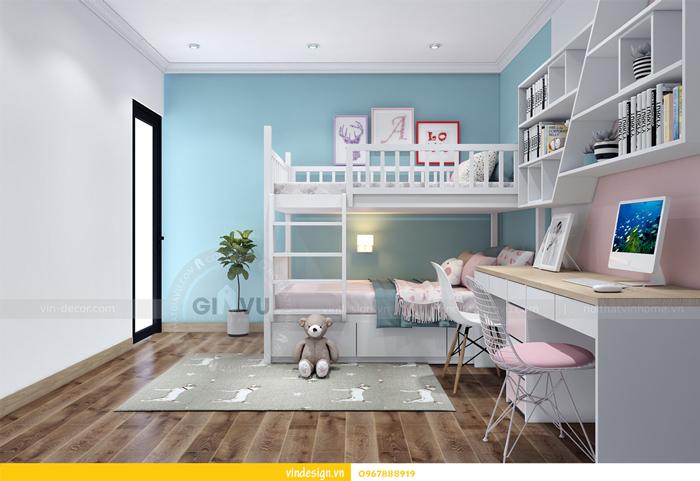 Thi công nội thất chung cư Gardenia tòa A2 12