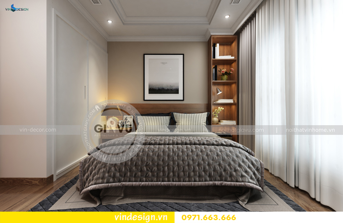 thiết kế căn hộ 3 phòng ngủ vinhomes d capitale 13