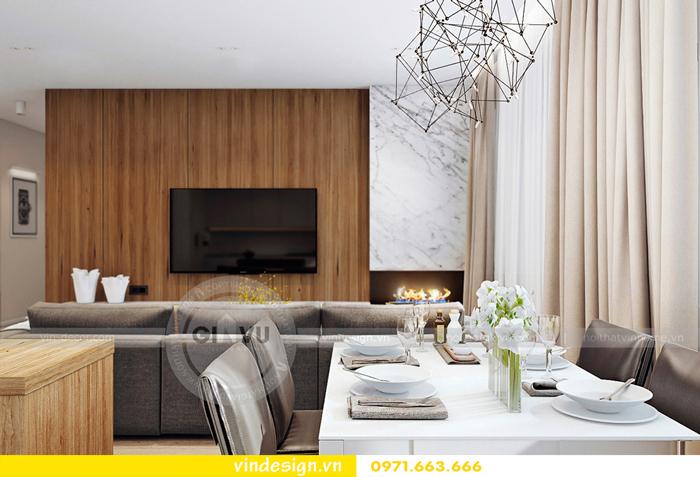 thiết kế nội thất Gardenia căn hộ 2 phòng ngủ 01