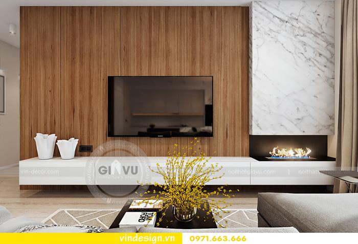 thiết kế nội thất Gardenia căn hộ 2 phòng ngủ 03
