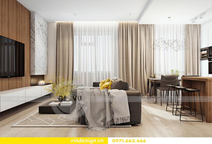 thiết kế nội thất Gardenia căn hộ 2 phòng ngủ 04