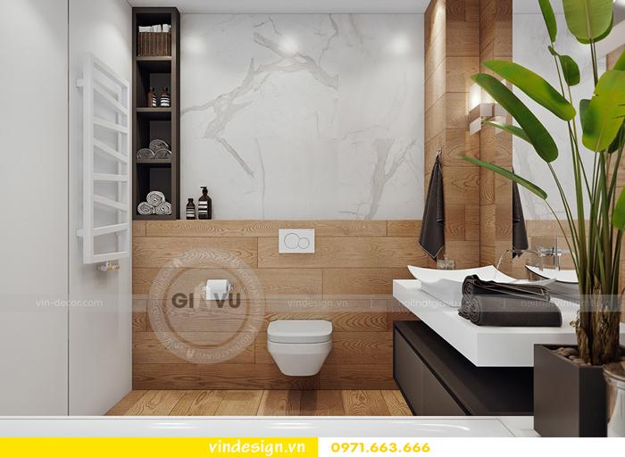 thiết kế nội thất Gardenia căn hộ 2 phòng ngủ 11