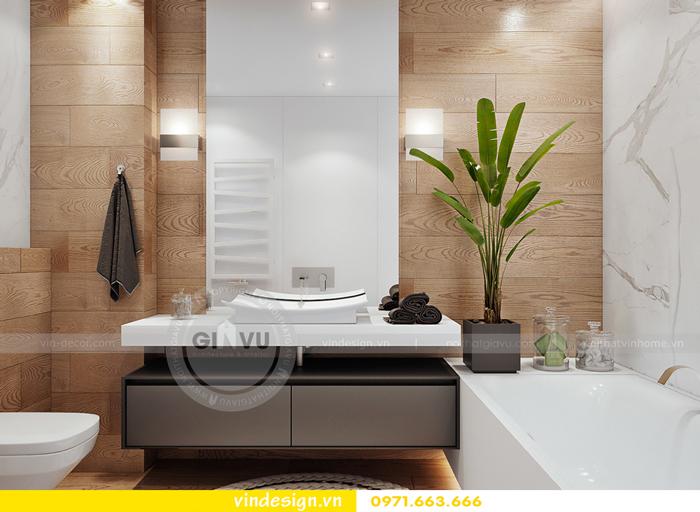 thiết kế nội thất Gardenia căn hộ 2 phòng ngủ 12