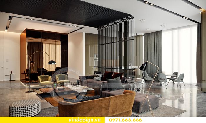 thiết kế nội thất Gardenia căn hộ 3 phòng ngủ 01