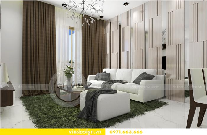 thiết kế nội thất căn hộ 1 phòng ngủ vinhomes d capitale 02