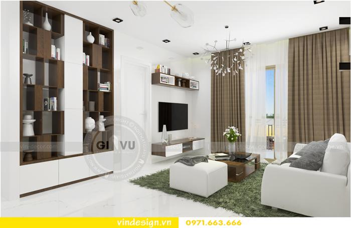 thiết kế nội thất căn hộ 1 phòng ngủ vinhomes d capitale 03