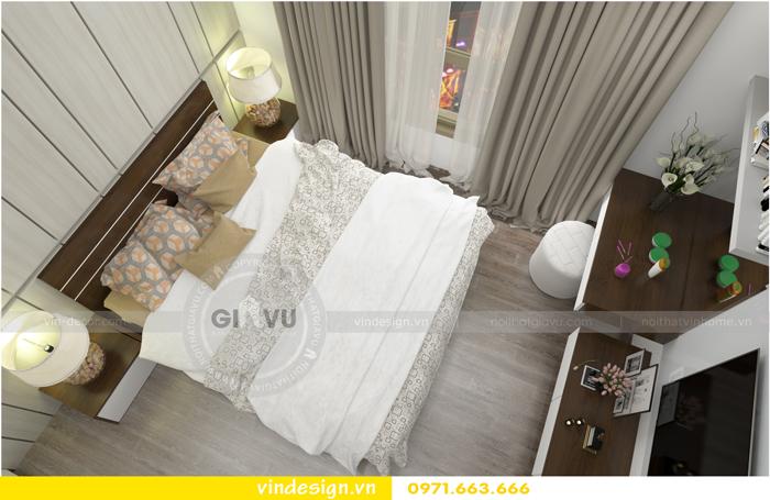thiết kế nội thất căn hộ 1 phòng ngủ vinhomes d capitale 11